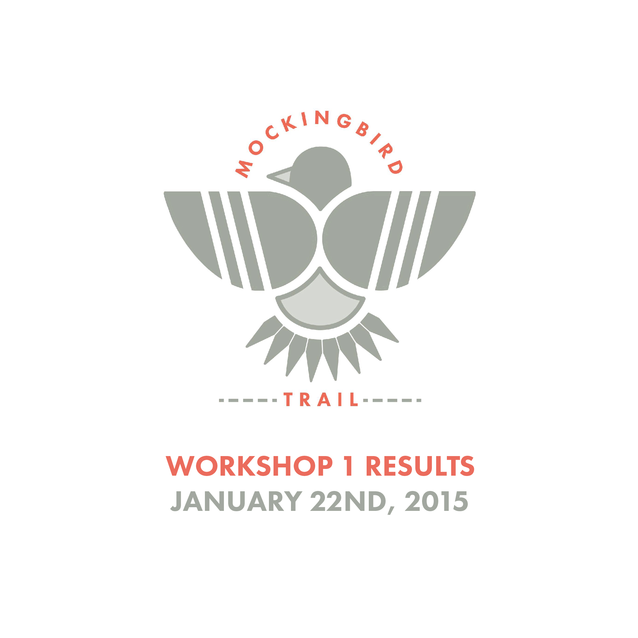 Mockingbird Trail | Workshop 1 Results